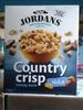 Country crisp cereales de desayuno con frutos secos - Produto