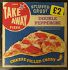Iceland Stuffed Crust Double Pepperoni Pizza - Product