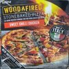 Stonebaked pizza sweet chilli chicken - Product