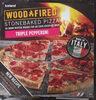 Woodfired Stonebaked Pizza Triple Pepperoni - Product