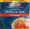 Miettes de thon à la tomate - Produit