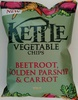 Kettle Vegetable Chips Beetroot, Golden Parsnip & Carrot - Produkt