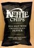 Sea salt with crushed black pepper - Produit