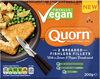 Totally Vegan Breaded Fishless Fillets 2 Pack - Produit