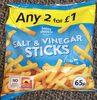 Salt & vinegar sticks - Product