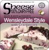 Queso vegetal estilo wensleydale con arándanos - Producte