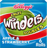 Fruit Winders Strawberry & Apple, (Pack of 6) - Product