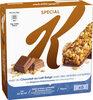 Barres Céréales Special K Kellogg's Chocolat Lait - 6x20g - Product