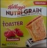Nutri-grain aux céréales complètes à toaster, framboise - Product