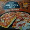 Deep Pan pizza base topped with tomato sauce, formed ham, mozzarella cheese, mushroom and red onion. - Produit