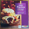 Free from deep filled mince pies - Product