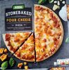 Stonebaked four cheese pizza - Product