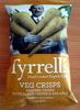 Veg Crisps Parsnip crisps with black pepper & sea salt - Prodotto
