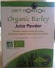 Organic Barley - Juice Powder - Produit
