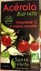 Acérola bio 1470 vitamine C origine naturelle - Product