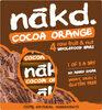Cocoa Orange Fruit & Nut Bars 4 x - Product