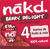 NAKD Framboise - Berry Delight - Produit