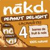 NAKD Cacahuète - Peanut Delight 4x35g - Product
