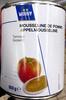 Mousseline de pomme tamisée - Produit