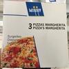 3 Pizzas Margherita Surgelées - Produit