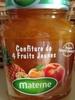 Confiture 4 fruits jaunes - Product