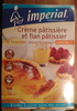 Préparation pour crème pâtissière et flan pâtissier saveur vanille - Product