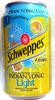 Schweppes Indian tonic light - Produit