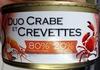 Duo crabe et crevette - Product