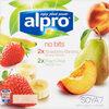 Alpro Smooth Fruit Yogurt 4X125g - Product