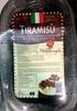 tiramisu - Produit
