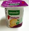 Iogurte pedaços ananás Auchan - Product