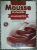 Mousse de chocolate - Produto