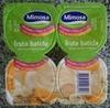 Iogurtes fruta batida banana laranja e bolacha - Produto