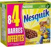 NESTLE NESQUIK Barres de Céréales (8+4) x 25g - Produit