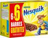 NESQUIK Barres de Céréales 6 x 25g + 6 offertes - Product