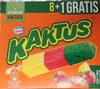 Lody wodne o smaku cytrynowym i sorbet truskawkowy z zieloną polewą tłuszczową (5%) - Produktas