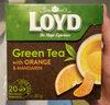 Loyd Tea Green & White (orange & Mandarin) - Product
