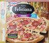 Pizza z szynką, pieczarkami i salami, głęboko mrożona. - Product