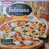 Pizza z pieczonym kurczakiem i serem ricotta, głęboko mrożona. - Product