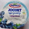 Jogurt typu greckiego z jagodami 2,4% tłuszczu - Product