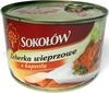 Żeberka wieprzowe z kapustą - Produkt