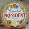 Camembert orzech - Prodotto