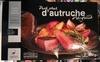 Pavé steak d'autruche pré-grillé - Producto