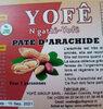 pâte d'arachide Yofê - Product