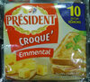 Président croqué (emmental) - Product