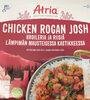 Chicken Rogan Josh broileria ja riisiä lämpimän mausteisessa kastikkeessa - Tuote