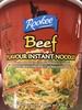 Beef Flavour Instant Noodles - Produit
