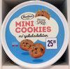Mini Cookies m/ sjokoladebiter - Produit