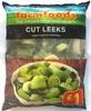 Cut Leeks quick frozen for freshness - Prodotto