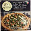 Pizza con Espinaca y Queso de cabra - Product